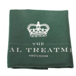 The Royal Treatment uitpoetsdoek van pluisvrij geruwd katoen