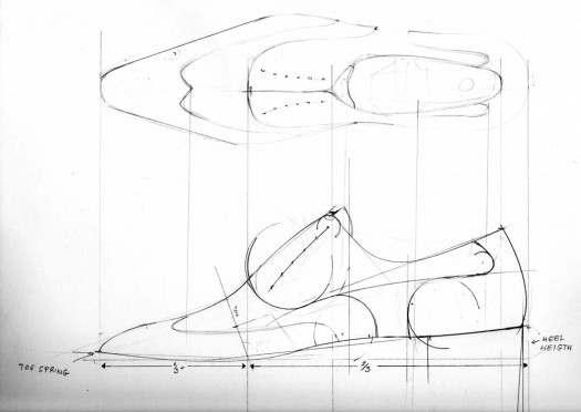 Drawing wingtip design by Marcell Mrsan