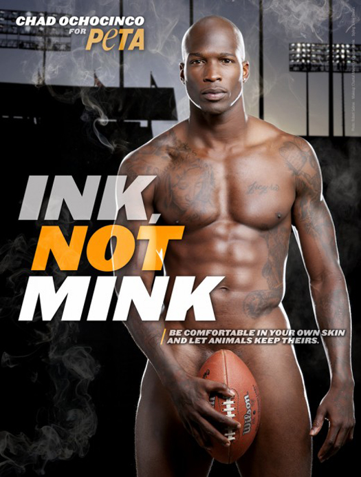 Chad Ochocinco for PETA
