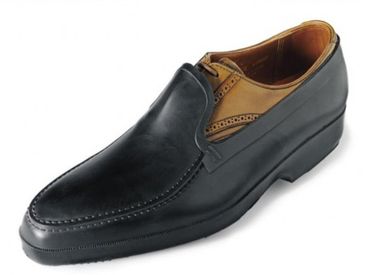 Tingley rubber over-Crockett-and-Jones-shoe