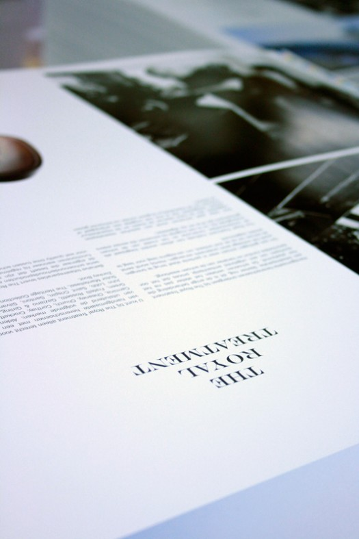 The making of... The Royal Treatment brochure – 5th edition