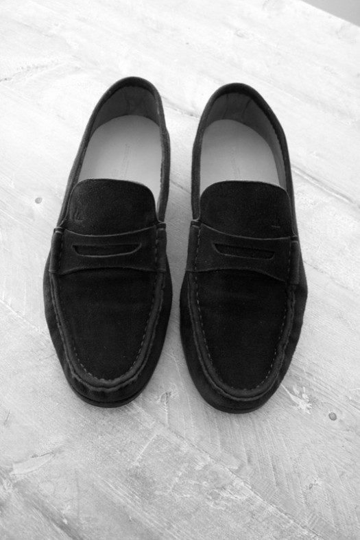 Kuckelkorn loafers voor The Royal Treatment stappenplan suède