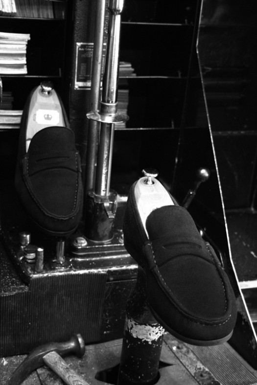 Kuckelkorn loafers na The Royal Treatment stappenplan suède