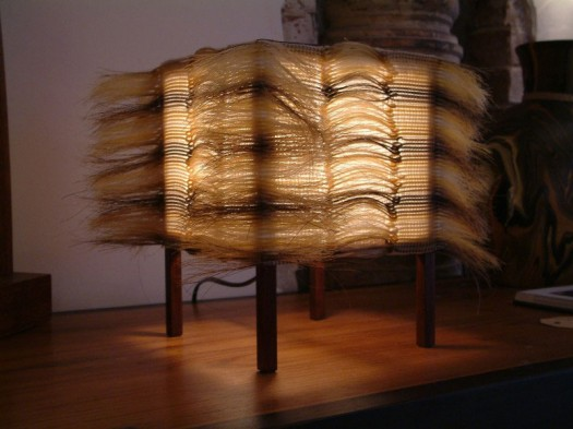 Lighting horse hair by Marianne Kemp