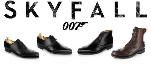 James Bond's Crockett and Jones shoes in Skyfall
