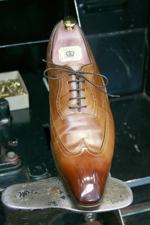 Santoni's after Premium Shoe Care+ treatment
