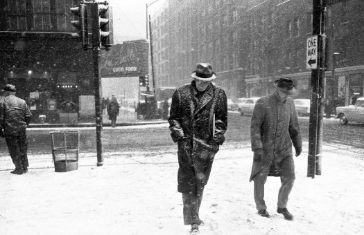 Chicago snow storm 1958