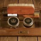 Shoe Care set glad leer (2/3de kleur) - The Royal Treatment
