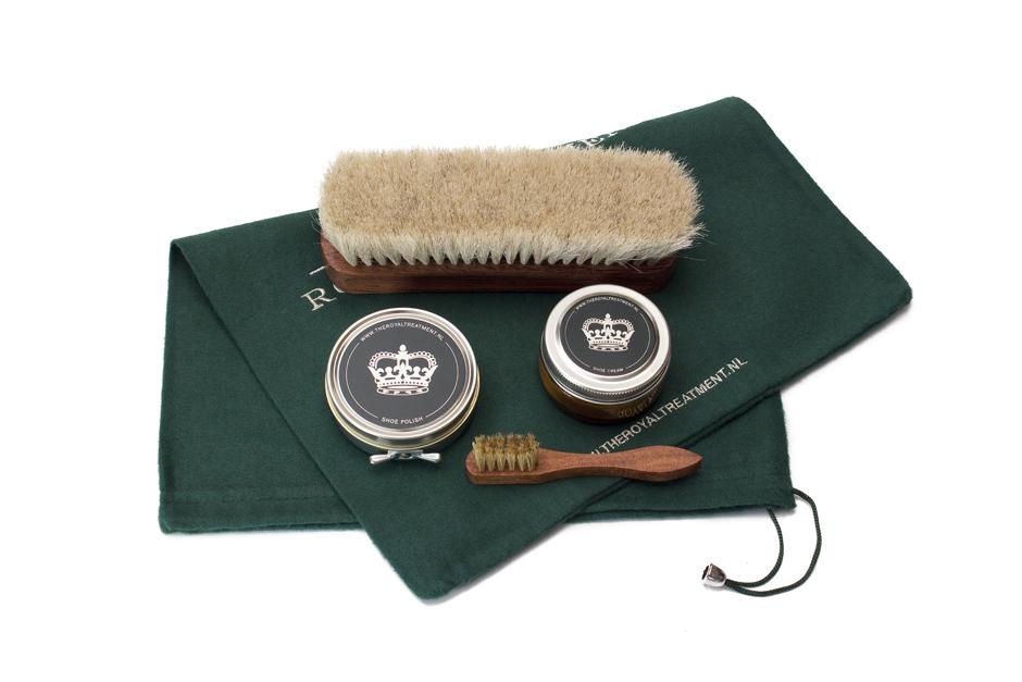 Shoe Care set glad leer (4de kleur) – The Royal Treatment