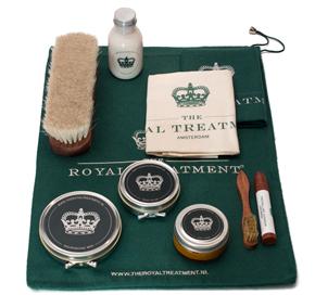 Shoe Care set glad leer (basisset) - The Royal Treatment