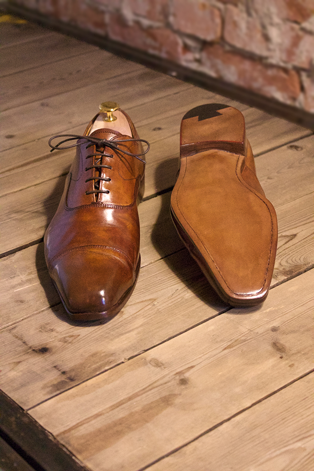 AFTER | Santoni na The Royal Treatment-methode (reparatie)